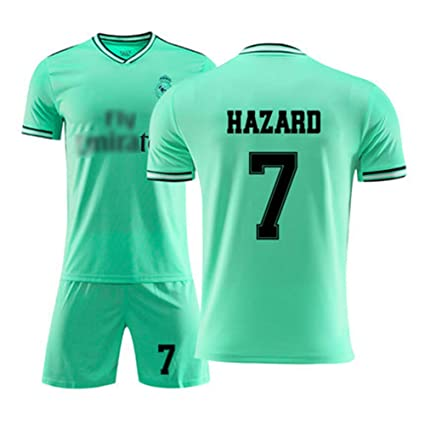 HSLIUYIAO Eden Hazard Camiseta De Fútbol Real Madrid Club De ...