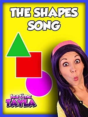 The Shapes Song on Tea Time with Tayla