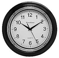 Kiera Grace Aster Round Wall Clock, 10 I...