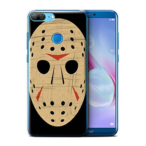 Price comparison product image STUFF4 Phone Case/Cover for Huawei Honor 9 Lite/Jason Vorhees Mask Inspired Design/Horror Movie Art Collection