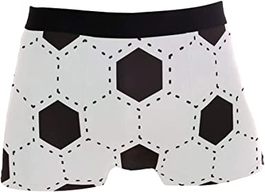 Mens Boxer Briefs Stretch Breathable Trunks Low Rise African American Art Underwear for Men Boys