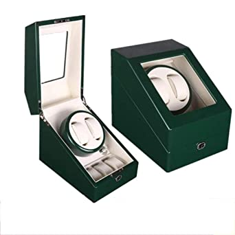 2 + 3 Automático Watch Winder Display Estuche de Madera con ...