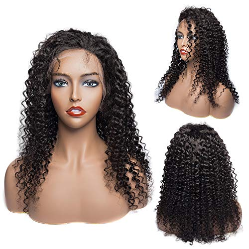 Lace Front Human Hair Wigs for Black Women VIPbeauty 130% Density Virgin Brazilian Straight/Curly/Water Wave/Body Wave Glueless Lace Frontal Wigs with Baby Hair