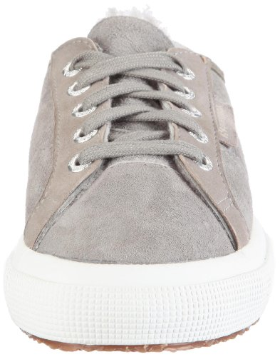 ante Superga 2750 Gris fashion de SHEARLINGU unisex S003T20 Zapatillas SYrS4U