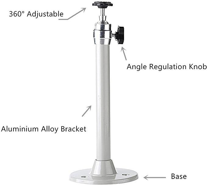 Soporte de aluminio universal Zice para proyector, para techo o ...
