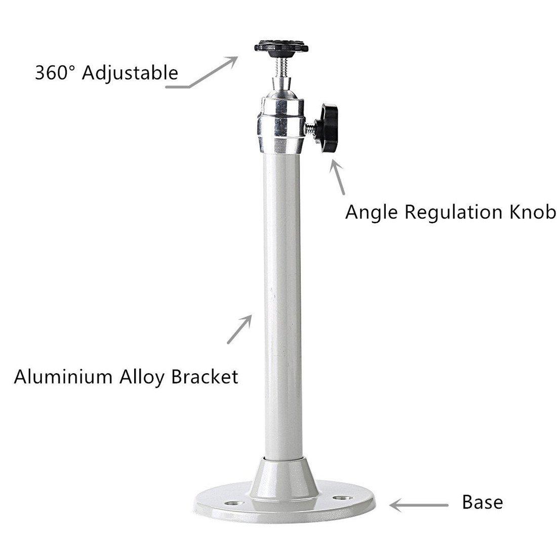 5 kg-Traglast Ivos-Wand-//Deckenhalterung f/ür kleinen Projektor