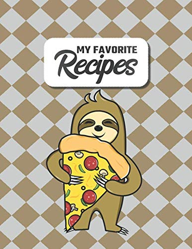 My Favorite Recipes: Your costum Cookbook to Write in | 8.5 x 11 | 100 Recipe Pages | DIY Cookery Book | Blank Recipe Notebook | Chef, Cook Gift Idea | 4 Pages of Table of Contents]()