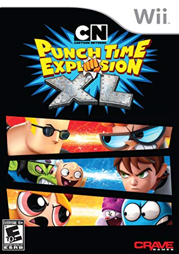 Cartoon Network: Punch Time Explosion XL - Nintendo Wii (Renewed) (Cartoon Network Punch Time Explosion Xl Wii)