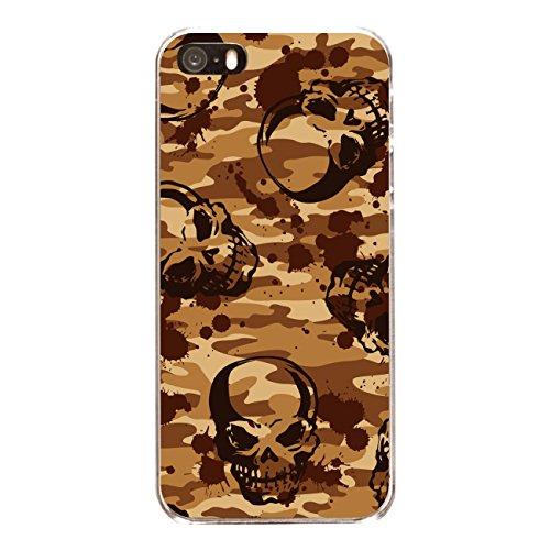 "Disagu Design Case Schutzhülle für Apple iPhone 5 Hülle Cover - Motiv ""Skull-Camouflage"""