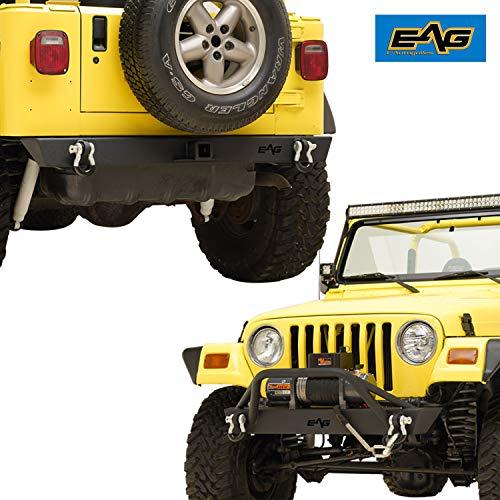 jeep bumpers tj rear - 9