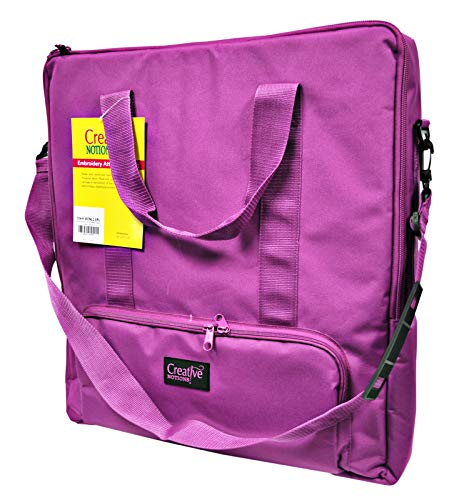 - Creative Notions Embroidery Attachment Bag in Purple