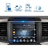 2017 Dodge Challenger Durango Charger Dart Journey 8.4-Inch Car Navigation Screen Protector, LFOTPP TEMPERED GLASS Infotainment Display In-Dash Media Center Touch Screen Protector Scratch-Resistant