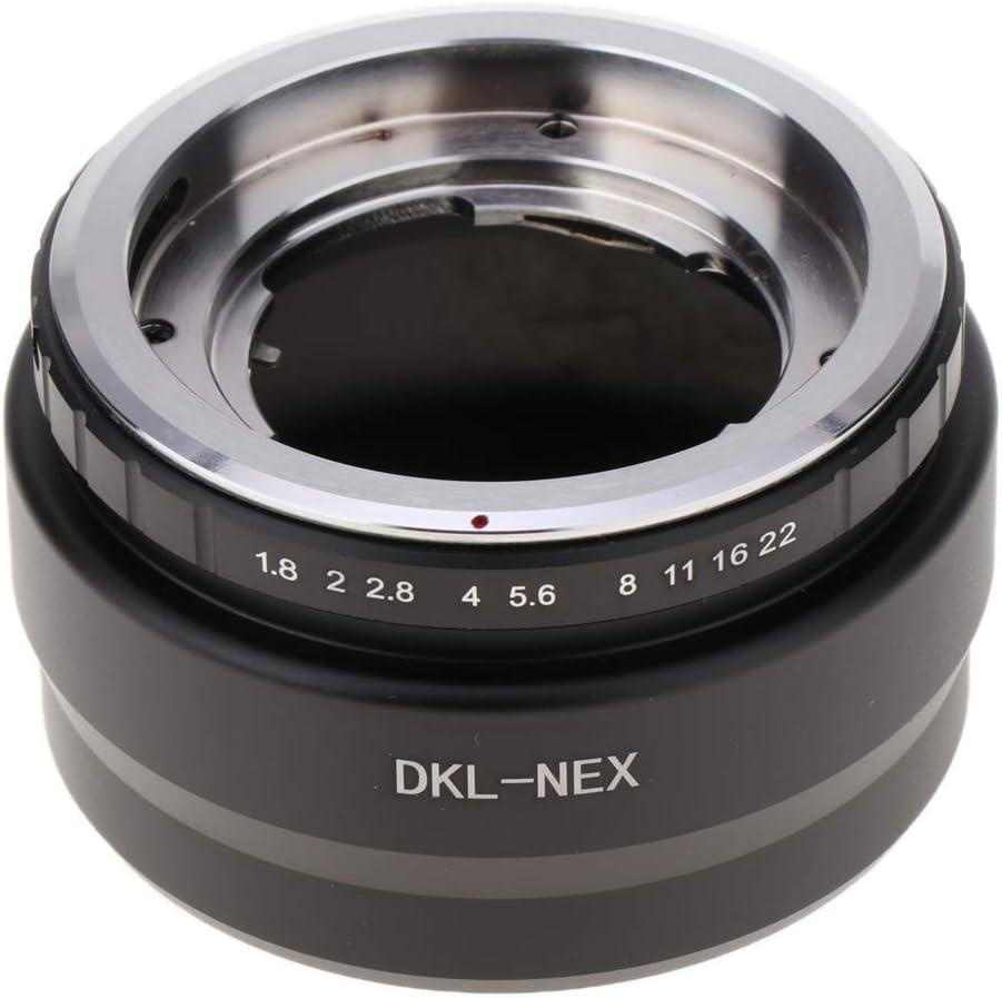 DKL-NEX Camera DKL Lens Manual Focus//Fixed Adapter Ring Lens Mount Converter Aperture Control Loop Alloy Metal Camera Body Lens Adapter