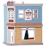 Hallmark Keepsake 2017 Nostalgic Houses and Shops Palmiter Hardware & Supply Dated Christmas Ornament