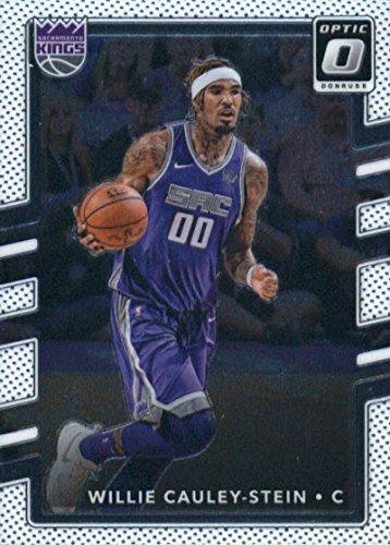 2017-18 Donruss Optic #127 Willie Cauley-Stein Sacramento Kings Basketball Card