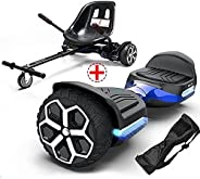 """Gyroor T581 Hoverboard 6.5"""" Off Road All Terrain Hoverboards with Bluetooth Speaker&LED Lights Two-Wh"""