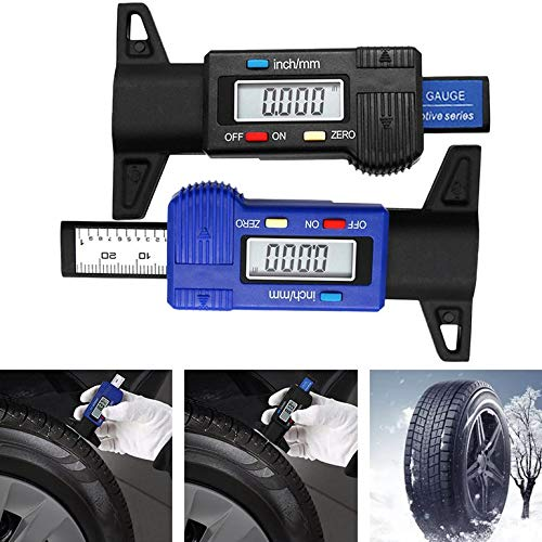 Snake Digital-Auto-Reifen-Profiltiefen Tester 0-25mm Reifenprofil Tiefenmesser Meter