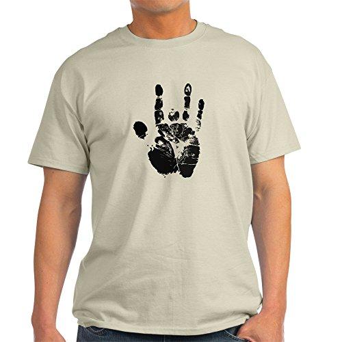CafePress Handprint - 100% Cotton T-Shirt