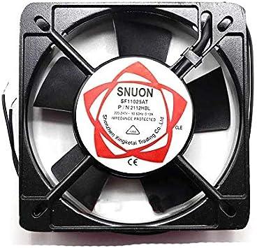 Ayazscmbs enfriamiento Ventilador Compatibles para 2pcs SF11025AT ...