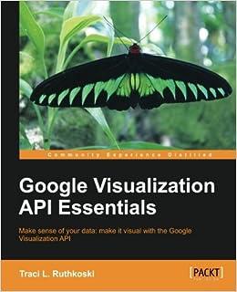 Amazon com: Google Visualization API Essentials