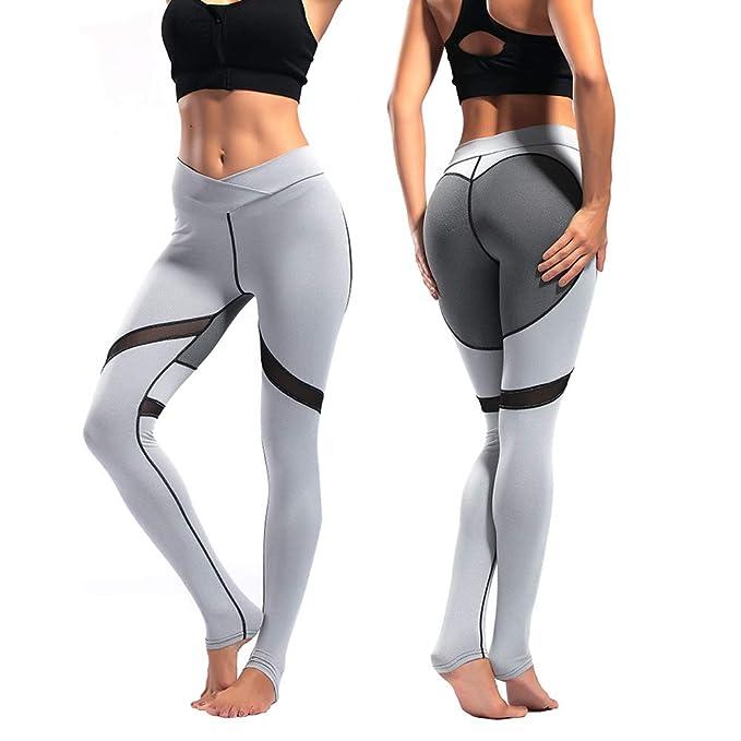 DW.HQ Me Encanta Coser Pantalones de Yoga, Cadera, Cintura Alta ...