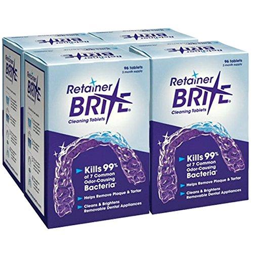 - Retainer Brite, 1 Year Supply, 384 Tablets