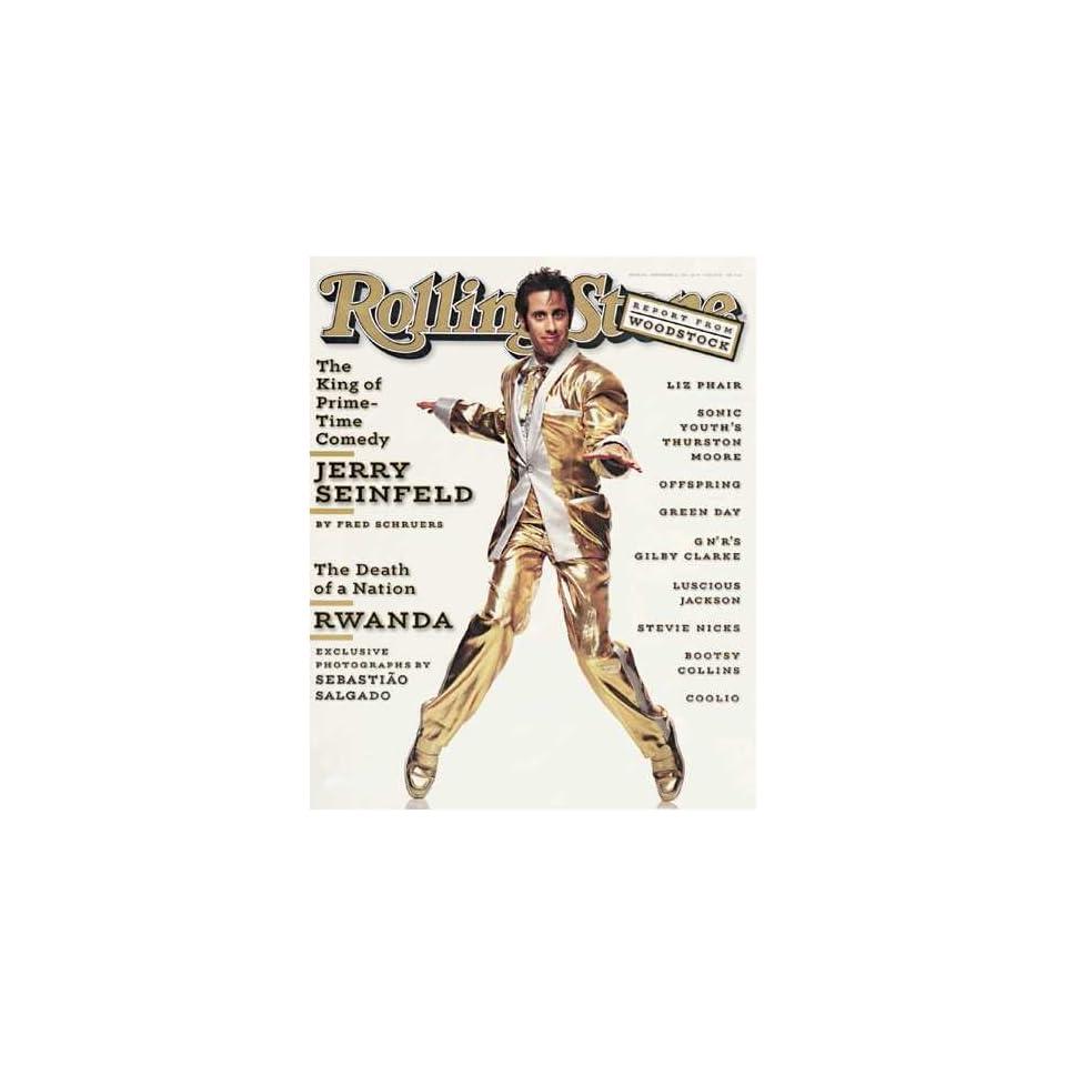 Rolling Stone Magazine # 691 September 12 1994 Jerry Seinfeld (Single Back Issue)