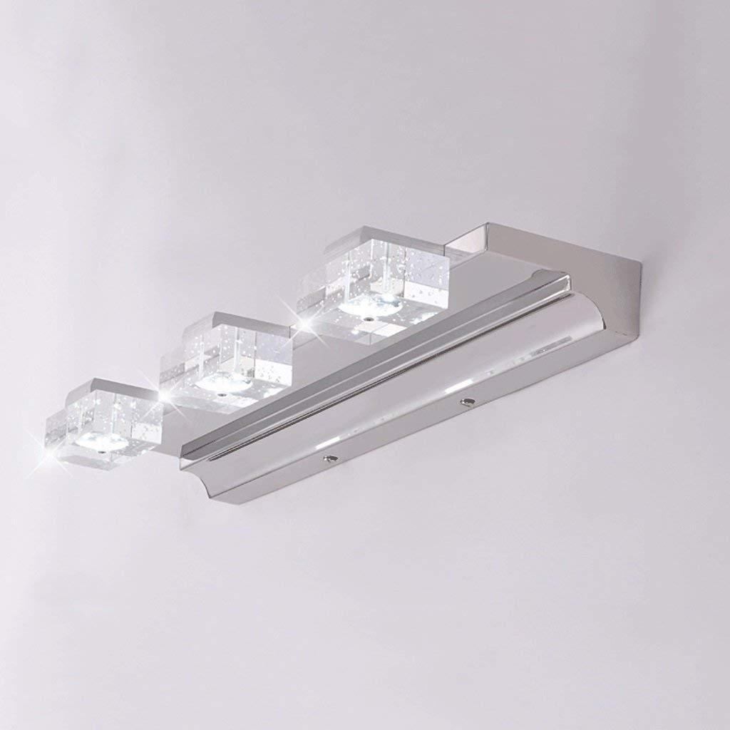 FXING Spiegel vorne Licht Skalierbare Moderne, minimalistische LED-Spiegel Lampen Lampen Lampen wasserdicht Bad wc Wand Leuchte Make-up-Spiegel Licht (Größe  46 cm) 960bed