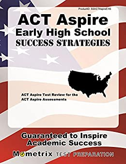 Amazon act aspire early high school success strategies study act aspire early high school success strategies study guide act aspire test review for the fandeluxe Images