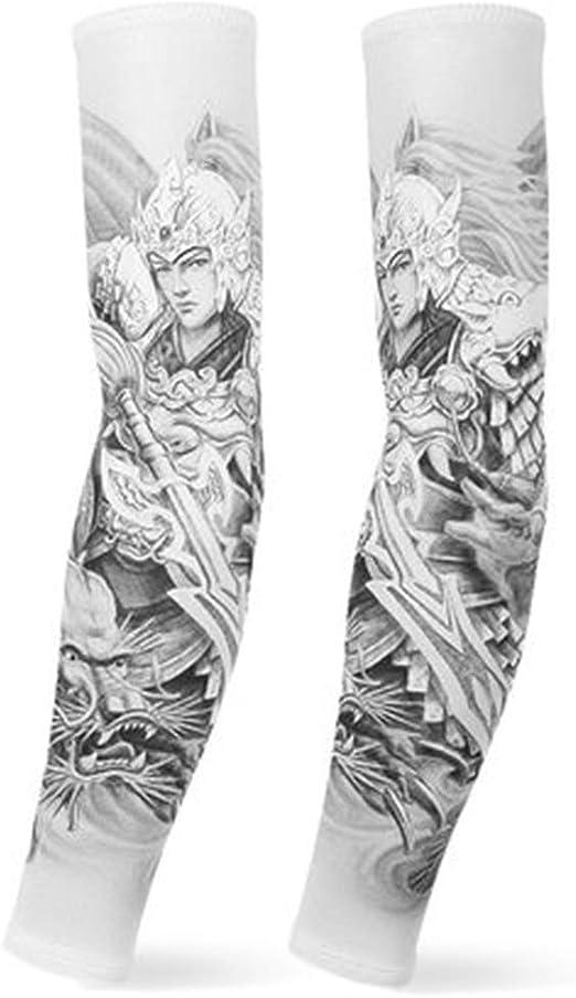 Tatuajes temporales Manga Protector Solar Brazo Conjunto Tatuaje ...