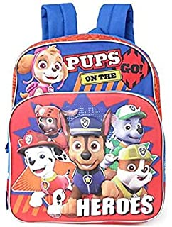 Paw Patrol Lunch Box Soft Kit Insulated Cooler Bag Heroes, Multicolor, One Size