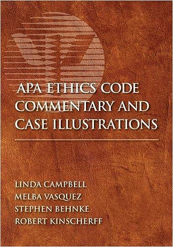 apa code of ethics 2019