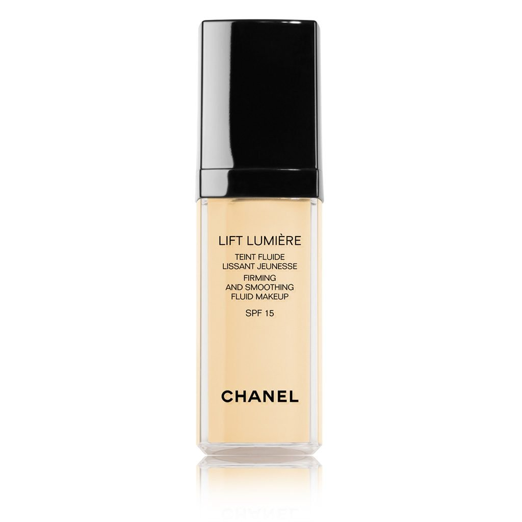 CHANEL LIFT LUMIÈRE FIRMING AND SMOOTHING FLUID MAKEUP SPF 15 30ML. # 30 - CENDRE