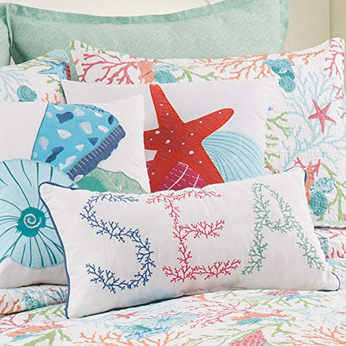 Medley Starfish - Bella Coastal Decor Starfish Medley Pillow