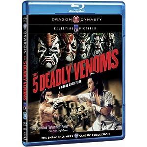 The Five Deadly Venoms [Blu-ray] (1978)