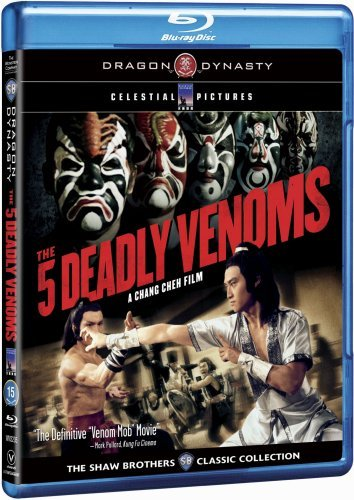 Blu-ray : The Five Deadly Venoms (Widescreen, Dubbed, Dolby, AC-3)