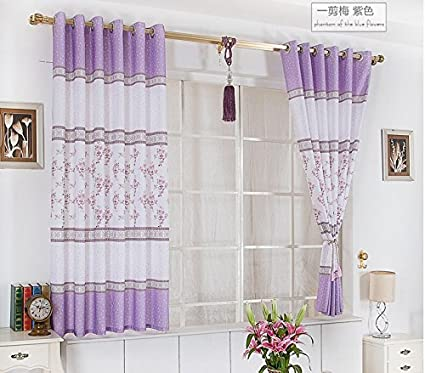 Curtain Finished / Stylish And Elegant Short Curtains / Bedroom Curtains  (Only 1 Piece/