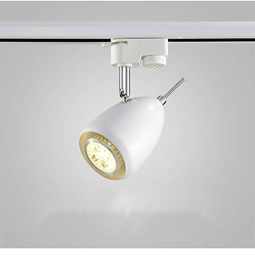 hogar LED Iluminación Luz E27 COB de del Luz Lámpara riel ZukTwOiXP