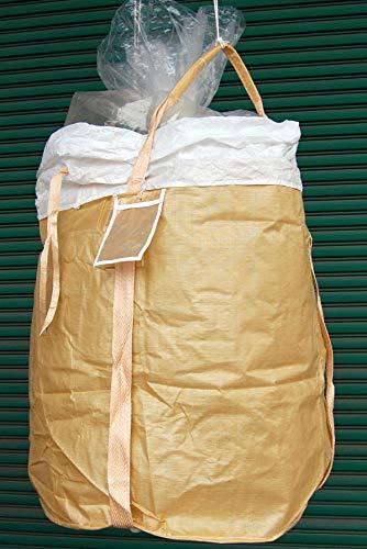 フレコンバック HS-302R-W 070905 丸型 内袋付き アスベスト対応 1045L 1000kg 5枚