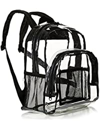 Stadium Approved Mini Backpack, Clear