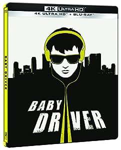 Baby Driver (4K UHD + BD) (Edición Especial Metal) - Exclusiva Amazon [Blu-ray]
