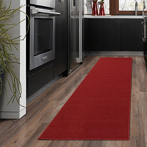 - Ottomanson OTH8400-20X59 Ottohome Collection Solid Design Runner, 20