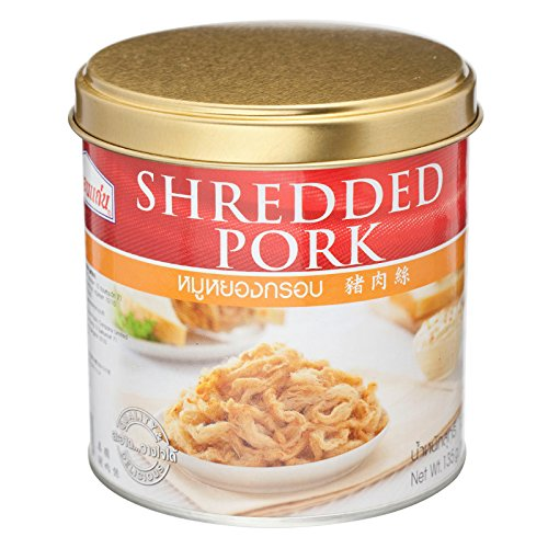 S.Khonkaen, Shredded Pork, net weight 135 g (Pack of 1 can) / Beststore by KK