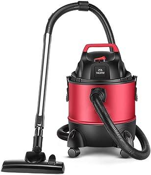 JU FU Aspiradora - Rojo 20L Gran Capacidad hogar Limpiador Industrial de vacío de múltiples Funciones de Alta Potencia Comercial, 40x29.5x47.5cm Productos de Limpieza @@ (Color : Red): Amazon.es: Hogar