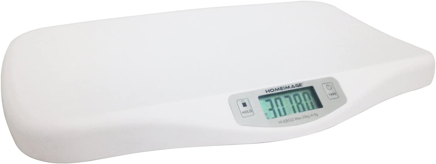 HOMEIMAGE- Digital Baby Pet Scale with Hold Function – up to 44 Lb. -HI-EB522