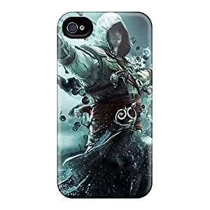 Clq2700EyPs Case Cover, Fashionable Iphone 4/4s Case - Assassins Creed Iv: Black Flag