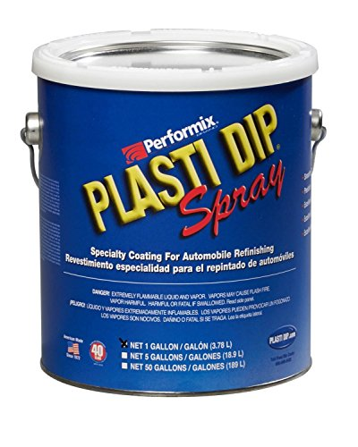 (Plasti Dip Multi-purpose Rubber Coating Spray - Sprayable - One Gallon (128oz) - Red)