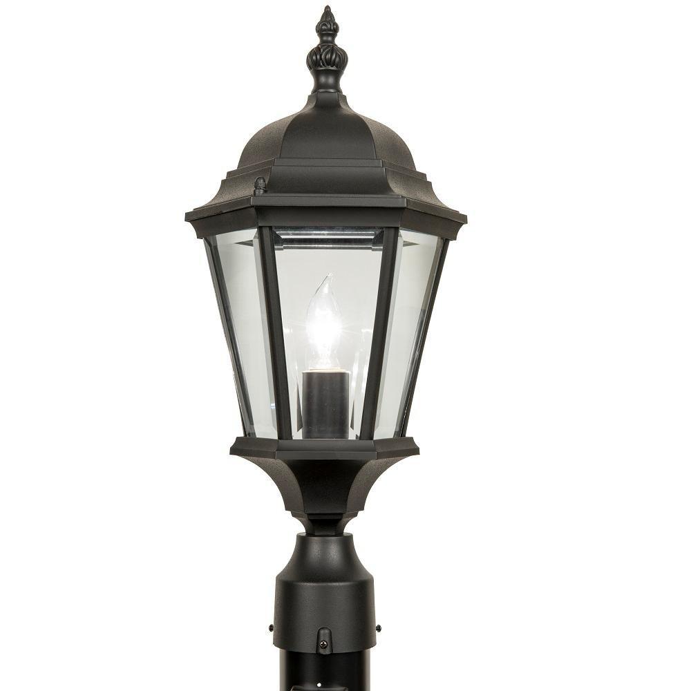 Newport Crest Post Top Coach Lantern