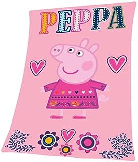Coperta Peppa Pig.Coperta Plaid In Pile Peppa Pig George Pig 12678 56517