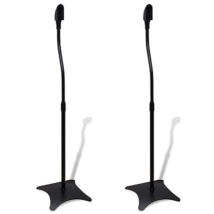 75e9815df2ed7 Amazon.com: SKB family Universal Speaker Stand Black 2 pcs, Black ...